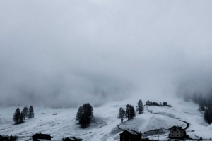 The weather is strange here in Alps ;(