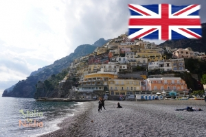 Positano, Amalfi, Ravello. The charm of empty beaches, or Amalfi Coast at low season.